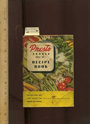 presto pressure cooker user manual