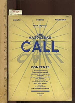 Health Science Philosophy : The Masdaznan Call : Contents: Physical Illiteracy, Diagnosis & ...
