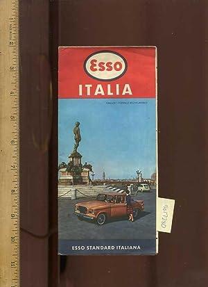 1959 Map : Esso Italia : Esso: Esso Standard Italiana