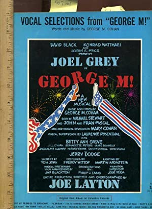 Vocal Selections from George M : Words: Cohan, George /