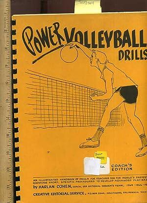 Power Volleyball Drills : An Illustrated Handbook: Cohen, Harlan /
