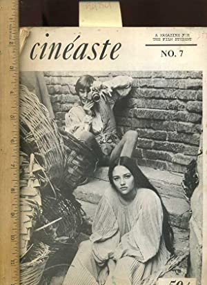 Cineaste : a Magazine for the Film Student / No. 7, Vol. II, No. 3 Winter 1968 to 69 [...