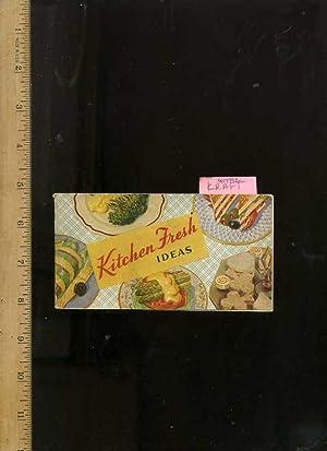 Kitchen Fresh Ideas Selected Recipes [vintage Kitchen: Kraft Phenix Cheese