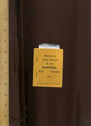 Miniature View Album Of / de Montreal: Photogelatine Engraving Co.