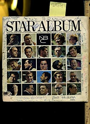 Star Album 1964 to 65 Guide to Television's Finest Schedule of Entertainment News Information ...