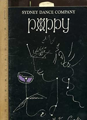 Playbill : Sydney Dance Company : Poppy Impressions of Jean Cocteau [Oversize pictorial folio ...