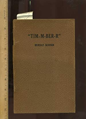 Tim M Ber R / Timmberr / TIM-M-BER-R : Fifth / 5th in Series [ Anecdotes , Poetry , Prose , Verse ...