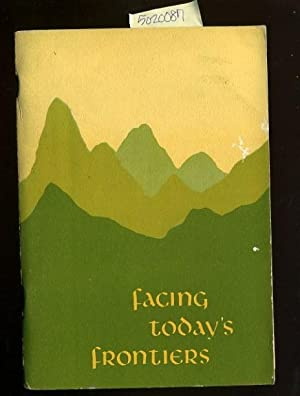 Facing Today's Frontiers : a Foundational Guide to the Theological Thinking of Older Youth, ...