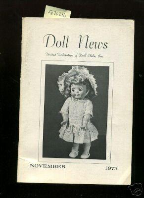 Doll News : Vol XXIII / 23: Cushner, Zelda H.
