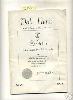 Doll News : Vol XXII / 22: Cushner, Zelda H.