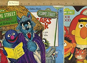 CTW : Sesame Street : Grover's Little Red Riding Hood / Oscar's Book / People ...