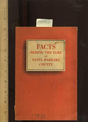 Facts Behind the Fame of santa Barbara County : First National Trust and Savings Bank [pictorial ...