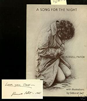 A Song for the Night [illustrated Book of Poems, Poetry, Late 1970s Sentiments, Love, Emotion, ...