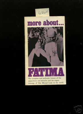 More About Fatima, and the Immaculate Heart: De Oca, Rev.