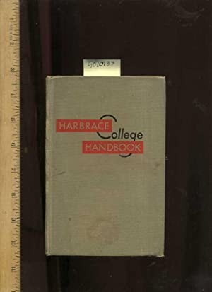 Harbrace College Handbook : 3rd / Third Edition [critical/practical Study, Word Usage, ...