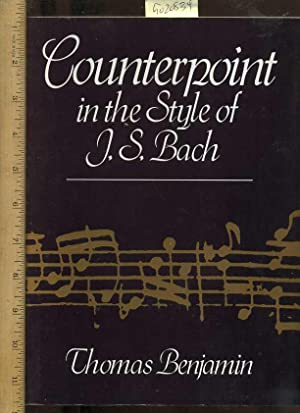 Counterpoint in the Style of J.S. Bach: Benjamin, Thomas