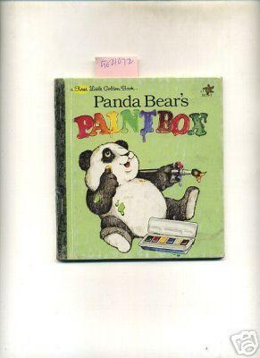 Panda Bear's Paintbox / Bears Paint Box : a First Little Golden Book , Series No. 10131-3...