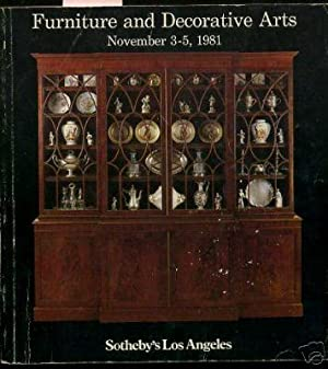 Sale 323 Volume II : Furniture and decorative Arts : Public Exhibition and Auction : Near Far ...