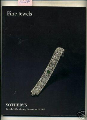 Sale 7060 : Catalog of Fine Jewels : Property from Hutton Family Collections, Janella Tyler Evans, ...