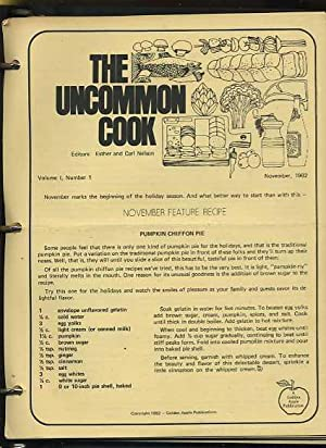 The Uncommon Cook [compilation of Recipes from golden Apple Publishers, a Newsletter on Cooking ...