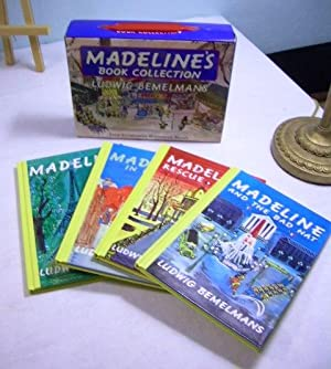 Boxed Set 4 Books : Madeline's Book: Bemelmans, Ludwig Packaged