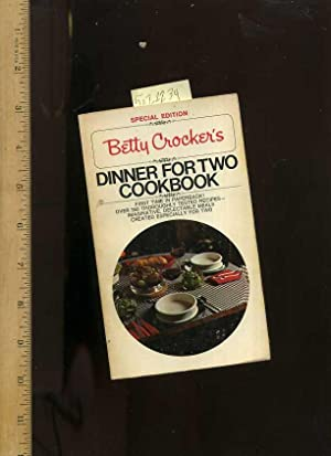 Betty Crockers Dinner for Two / 2 Cookbook : Special Edition : 1977 [A Cookbook / Recipe ...