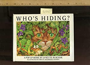 Who's Hiding : A Pop Up Book [Pictorial Children's Reader, Learning to Read, Skill ...