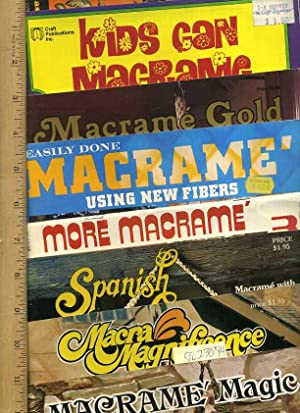 MacRame Magic / MacRa Magnificence / spanish Lace / More MacRame / Easily Done ...
