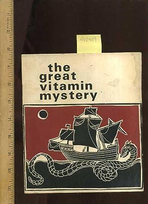 The Great Vitamin Mystery: Martin, Marvin