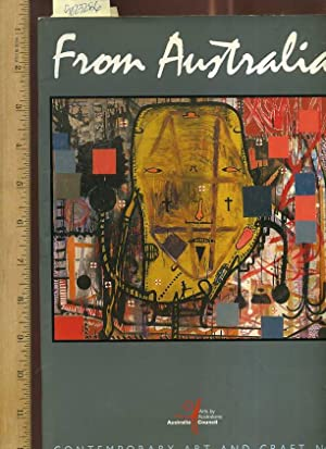 From Australia : Contemporary Art and Craft No.1 [photo Pictorial Biography of Modern Artists, ...