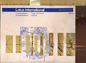 Lotus International 67 : Large Conversion Projects [Urban Architectural Projects, La Villa Olimpica...
