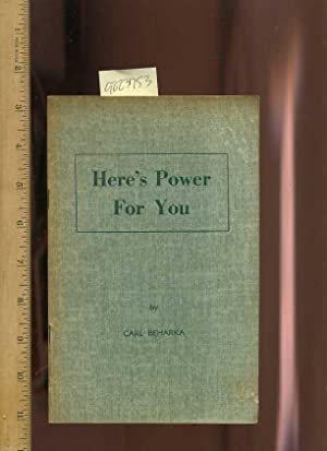 Here's Power for You [Self help Reference Guide, Personal Growth & Empowerment, wellness&#...