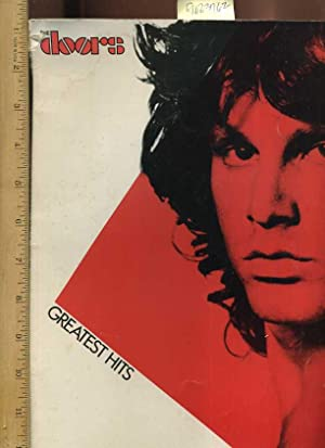 The Doors Greatest Hits : Piano Vocal Chords [pictorial Songbook: Electra / Asylum Records / Doors ...