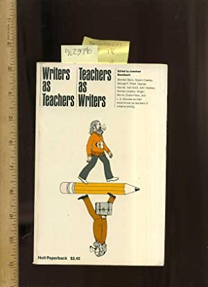 Writers as Teachers : Teachers as Writers [Critical / Practical Study ; Review ; Reference ; ...