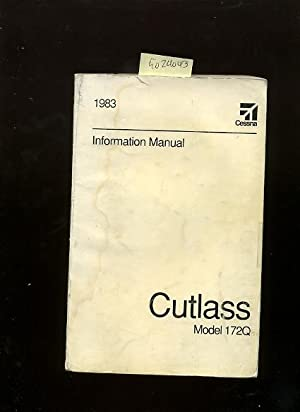 Cessna 1983 Information Manual : Cutlass Model 172Q / 172 Q: Cessna Aircraft Company