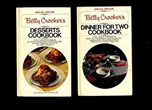 Betty Crocker's : Dinner for Two / 2 Cook Book / Betty Crocker's Desserts ...