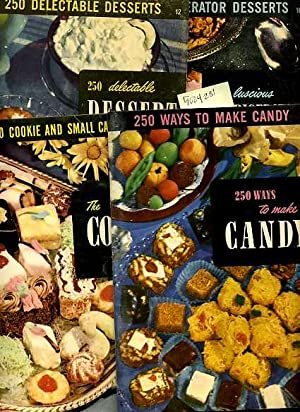 The Candy Book : 250 Ways to Make Candy No. 15 / The Cookie Book : 250 Cookie and Small Cake ...