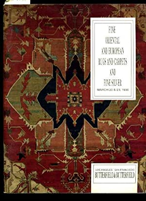 Fine Oriental and European rugs and Carpets and Fine Silver : March 20 and 23 1990 : Los Angeles ...