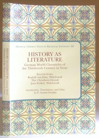 History As Literature - German World Chronicles: Ems, Rudolf von