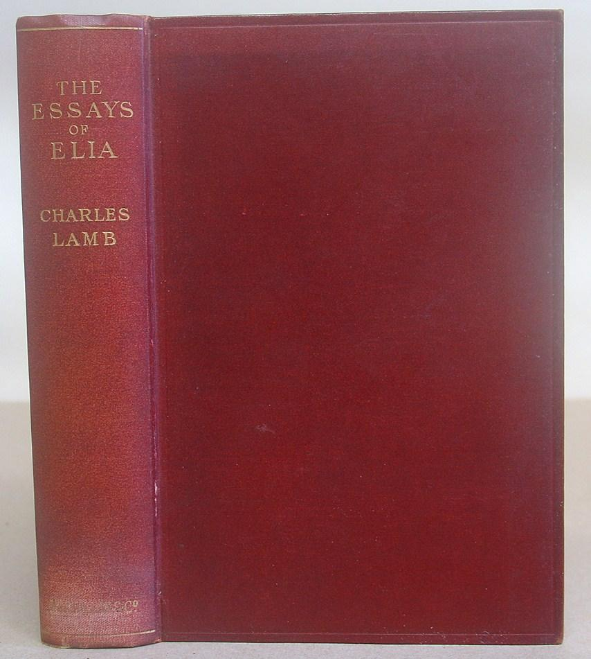 essays of elia by charles lamb