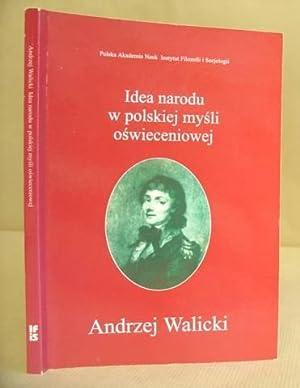 Idea Narodu W Polskiej Mysli Oswieceniowej: Walicki, Andrzej