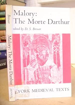 The Morte Darthur Parts Seven And Eight [only]: Malory, Sir Thomas & Brewer, D S [editor]