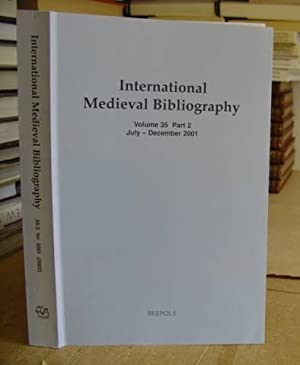 International Medieval Bibliography - Bibliography For The Study Of The European Middle Ages 400 - ...