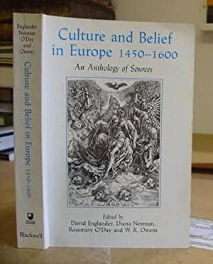 Culture And Belief In Europe 1450 - 1600. An Anthology Of Sources: Englander, David - Norman, Diana...