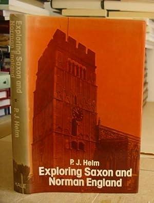 Exploring Saxon And Norman England: Helm, P J