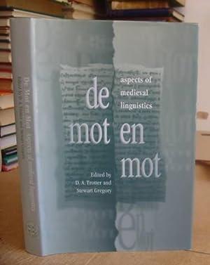 De Mot En Mot - Aspects Of Medieval Lingusitics. Essays In Honour Of William Rothwell: Gregory, ...