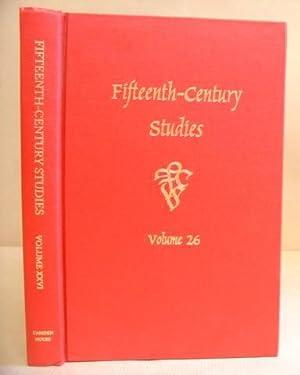 Fifteenth Century Studies Volume 26: DuBruck, Edelgard E