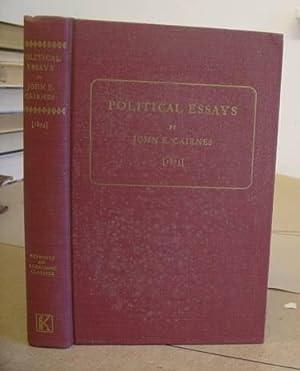 Political Essays: Cairnes, John E