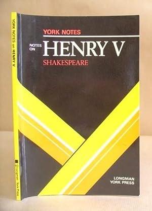 William Shakespeare : Henry V - York: Barber, Charles