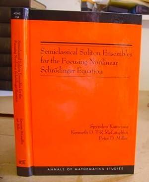 Semiclassical Soliton Ensembles For The Focusing Nonlinear: Kamvissis, Spyridon -